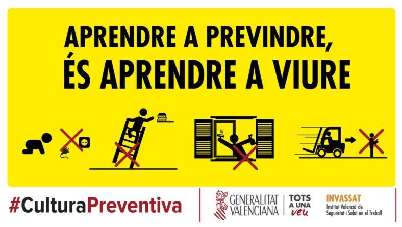 Campanya de la Generalitat Valenciana per una cultura preventiva
